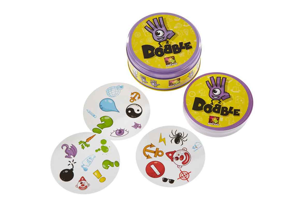 bote y cartas dobble original