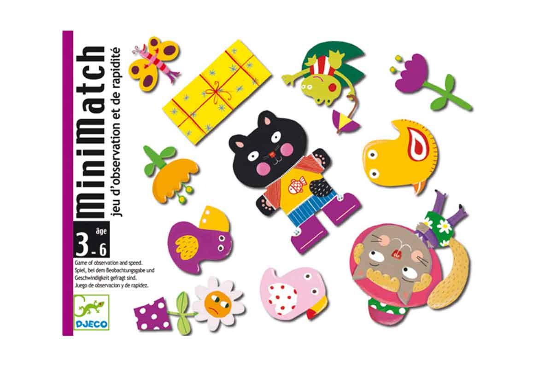 caja del juego minimatch