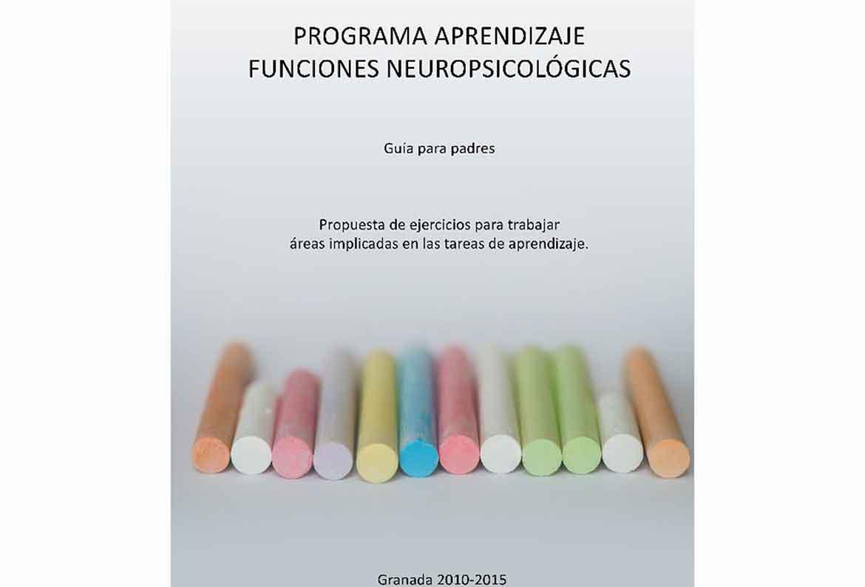 portada del programa de aprendizaje de funciones neuropsicologicas