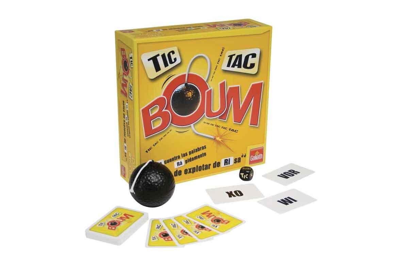 caja cartas bomba juego tic tac boum