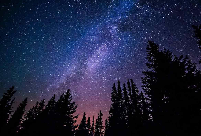 imagen del cielo estrellado