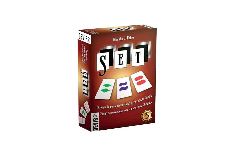 caja del juego set