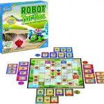 caja y fichas del juego robot turtles