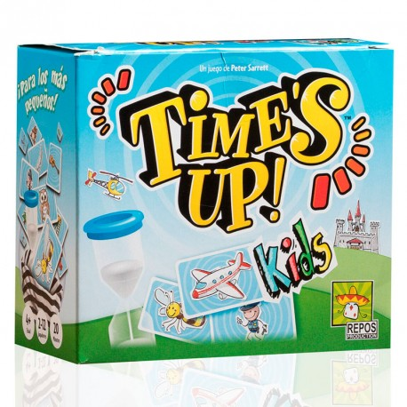 caja del juego time's up kids